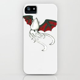 Squidpire Bat iPhone Case