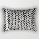 Grey Knit With White Stripe by projectm