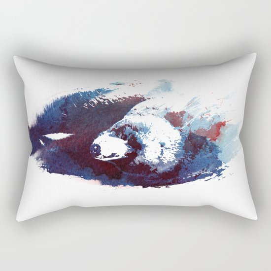 Death run Rectangular Pillow