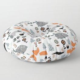 Woodland Nap Time Floor Pillow