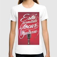 guitar T-shirts featuring Guitar!! by Jose Gallardo Bernal