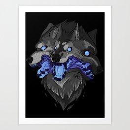 Weird Dog Art Print