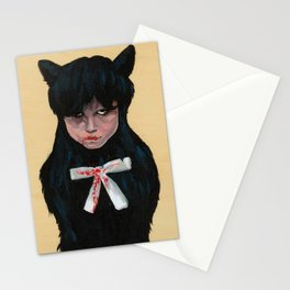 Unsatisfied craving Stationery Cards