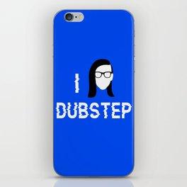 I heart Dubstep iPhone Skin