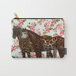 Leopard Horses Carry-All Pouch