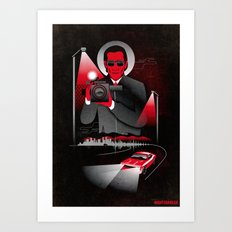 Nightcrawler Movie Poster Art Print