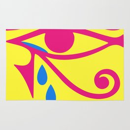 Eye of Horus Tears Rug