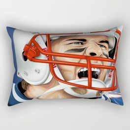 TOM BRADY / THE GOAT Rectangular Pillow
