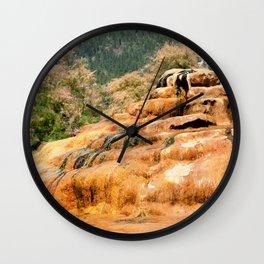 Pinkerton Mineral Springs, No. 4 of 4 Wall Clock