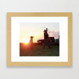 Quality Time Framed Art Print