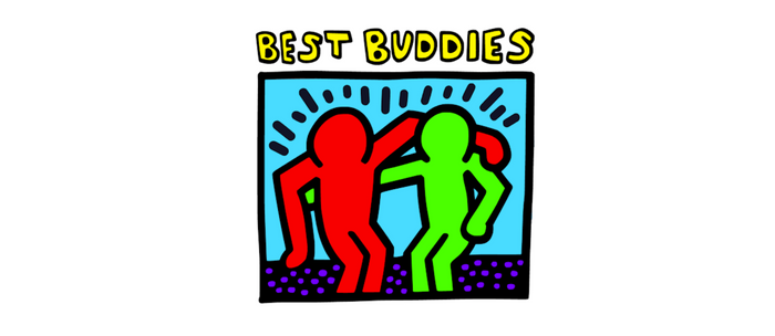 """Keith Haring inspired """"Best Buddies"""" Complementary Color R&G edition Coffee Mug"""