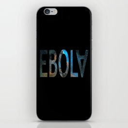 Spacey Ebola iPhone Skin