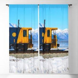 Caboose - Alaska Train Blackout Curtain