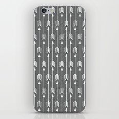 Grey Arrow iPhone & iPod Skin