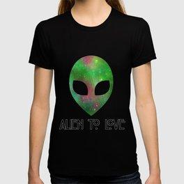 Alien to Love - GREEN T-shirt
