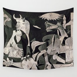 GUERNICA #1 - PABLO PICASSO Wall Tapestry