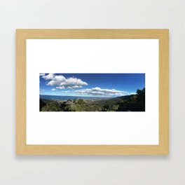 Bulli Lookout in Wollongong NSW Australia Framed Art Print