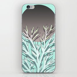 Tree and the moon iPhone Skin