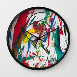 Anger is a Gift Wall Clock