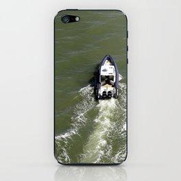 Boat in San Francisco Bay iPhone Skin