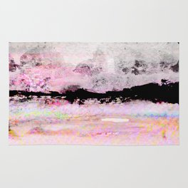 abstract sky view Rug