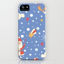 Seamless Christmas iPhone Case