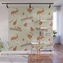 Beetles Wall Mural