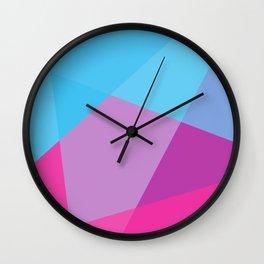 Colour Bomb Wall Clock