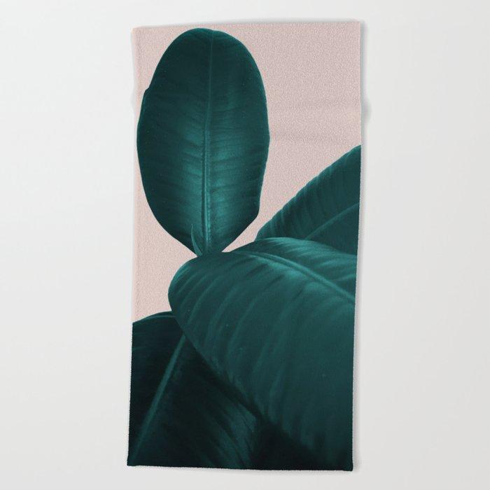 Ficus Elastica #4 #art #society6 Beach Towel