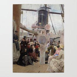 Tom Roberts Coming South Poster