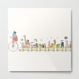 the happy parade Metal Print
