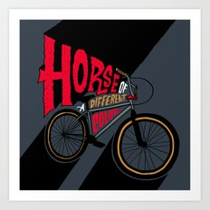 Horse of a Different Color Art Print