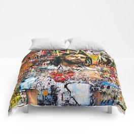 J Cole Portrait Artwork Comforters