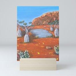Beds Are Burning Mini Art Print