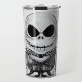 Mini Jack Skellington Travel Mug