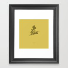 I am Married to England. -Elizabeth Framed Art Print