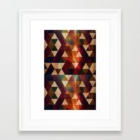 polygon Framed Art Prints featuring Polygon by Tony Vazquez