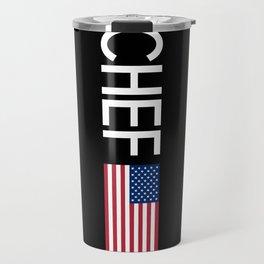 Chef (U.S. Flag) Travel Mug