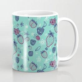 Summer Berry Patch Pattern Coffee Mug