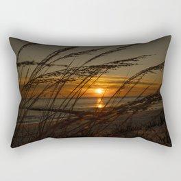 Peaking Through Rectangular Pillow