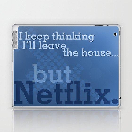 But Netflix Laptop & iPad Skin by matthewhall