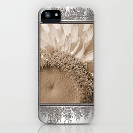 Helichrysum Bracteatum named StrawBurst Yellow iPhone Case