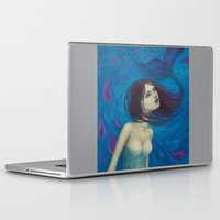 pisces Laptop & iPad Skins featuring Pisces by Artist Andrea