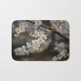 Korean Plum Blossoms Bath Mat