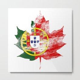 Portugal/Canada Metal Print