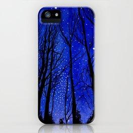 Night under the Stars iPhone Case