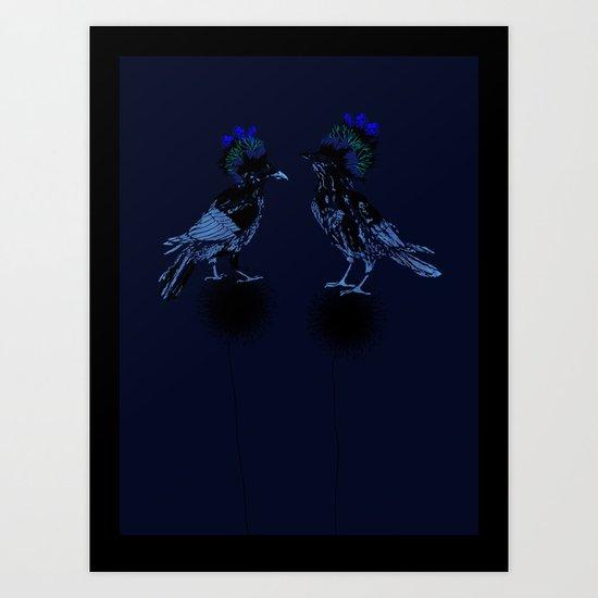 ravens Art Print