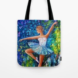 Dance In The Rain Of Color Tote Bag