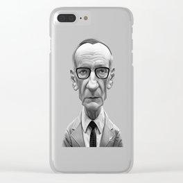 William Burroughs Clear iPhone Case