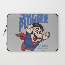 Super Plumber Laptop Sleeve